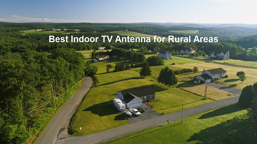 Best Indoor TV Antenna for Rural Areas